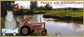 Penny ... ganz vornehm mit Chauffeur